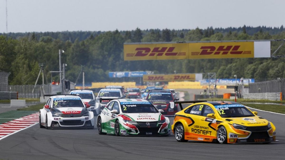 HUFF on the GRID during the 2015 FIA WTCC World Touring Car Race of Moscow at Moscow Raceway, Russia from June 5th to 7th 2015. Photo Antonin Grenier / DPPI.