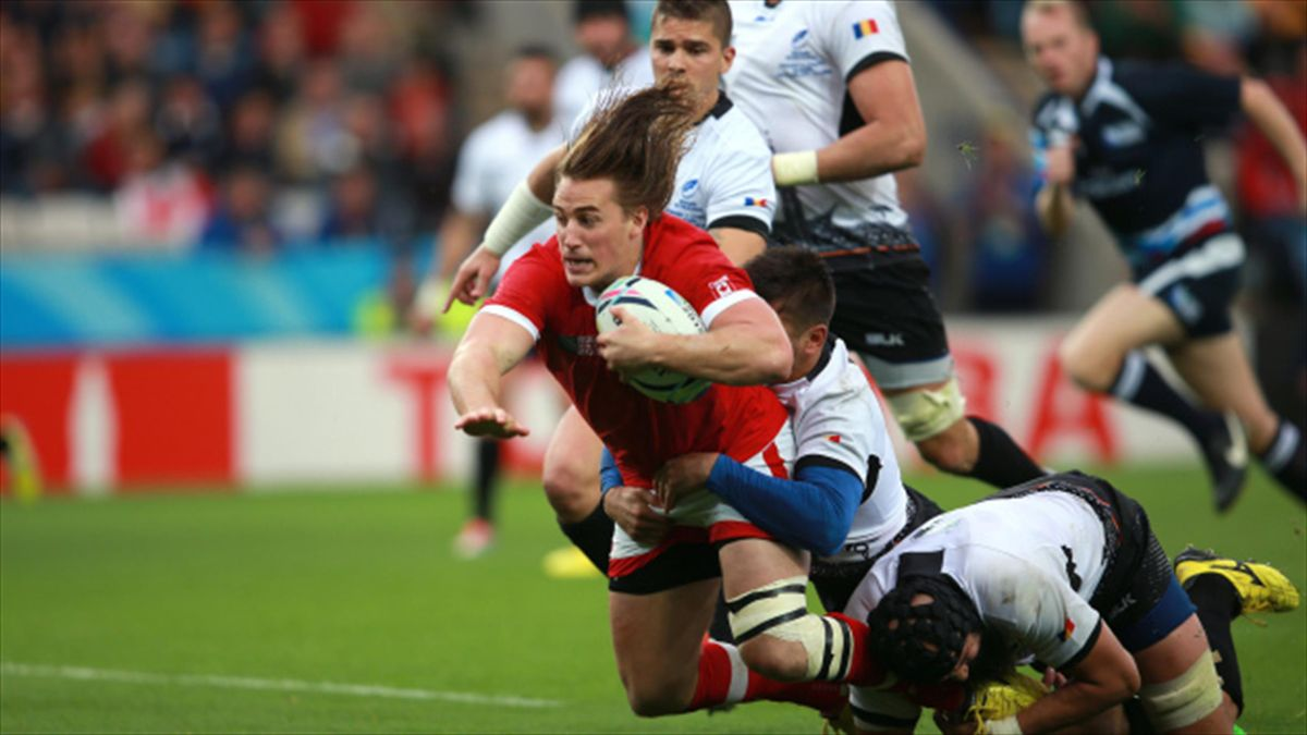 Ospreys and Canada wing Jeff Hassler, pictured centre, will miss the rest of this season