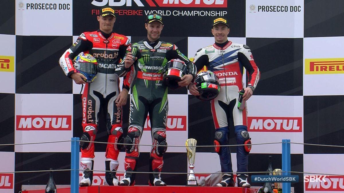 News_E : Superbike WCH - Assen: Race 1