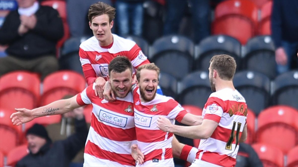 Doncaster's survival hopes were boosted by an impressive win over Wigan