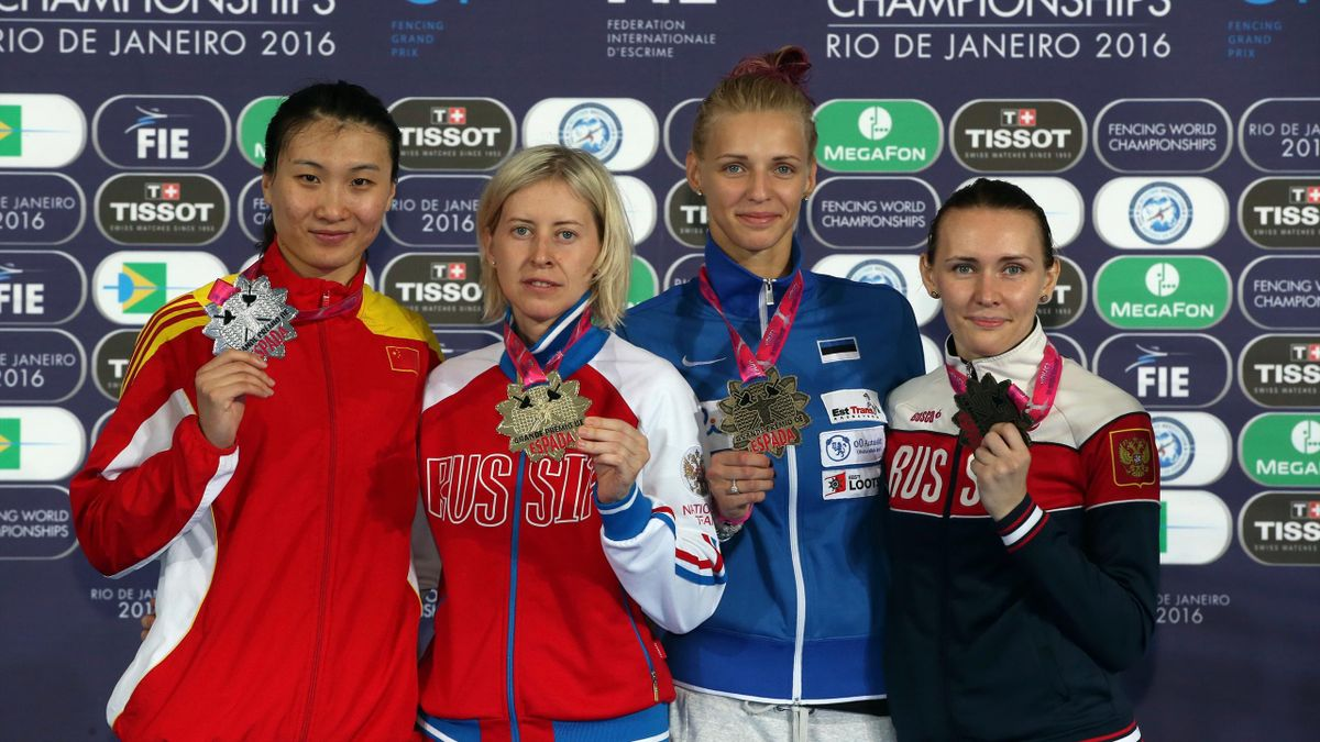 Russia's Logunova secures gold at Olympic Test Event Grand Prix in Rio