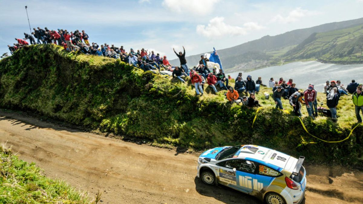 18 MOURA Ricardo COSTA Antonio FORD FIESTA R5 Action during the 2016 European Rally Championship ERC Azores rally,  from June 2 to 5, at Ponta Delgada Portugal - Photo DPPI
