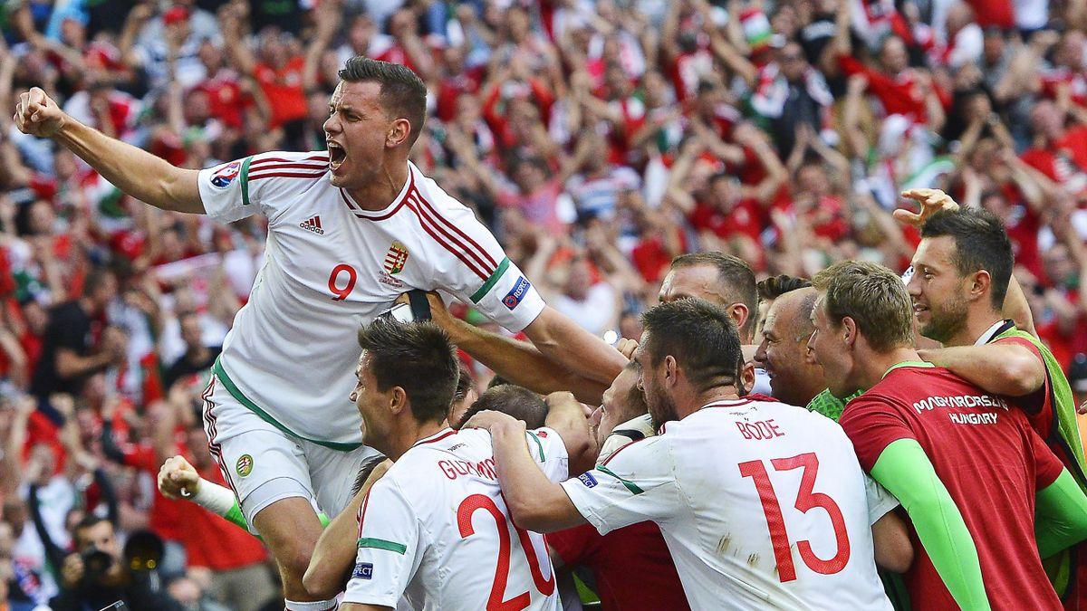 2016. - ünnepel a magyar csapat