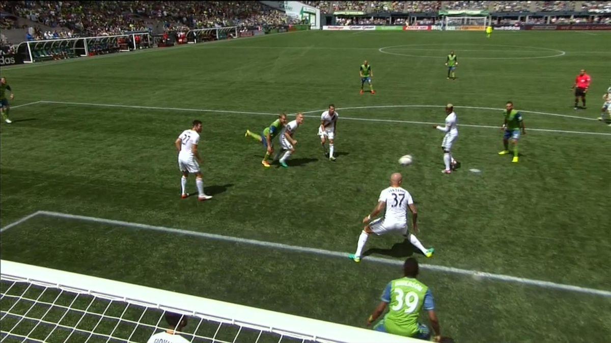 MLS hlts : Seattle Sounders Fc vs LA Galaxy