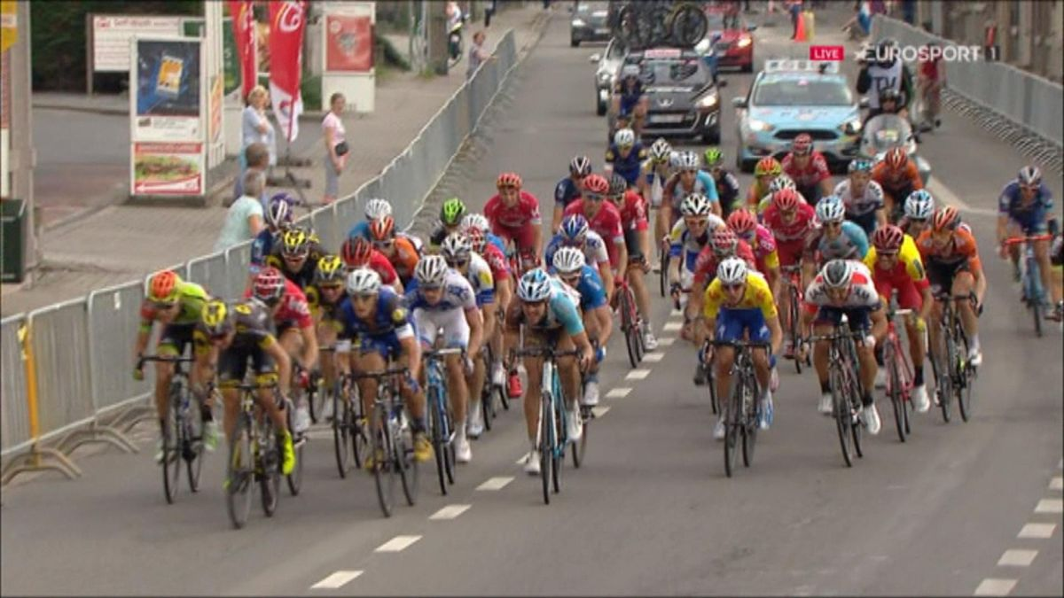 Tour of Wallonie - stage 4 finish