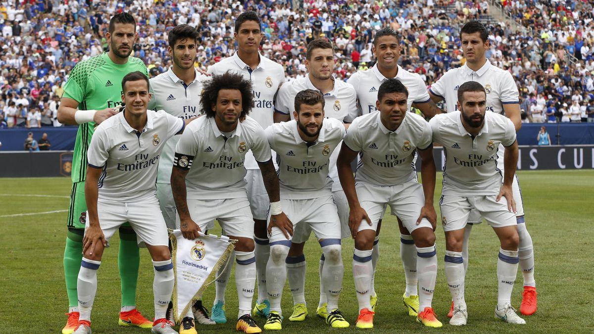 Once del Real Madrid ante el Chelsea