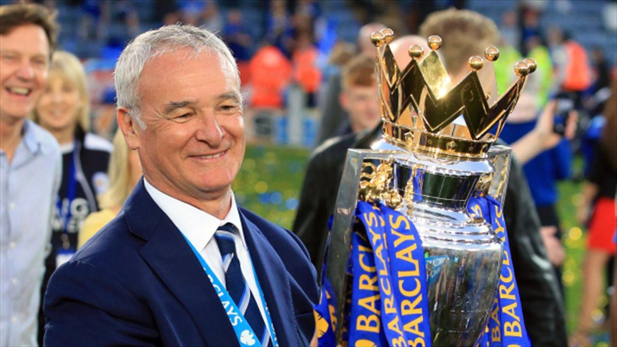 Claudio Ranieri's Leicester won the Premier League title by 10 points last season