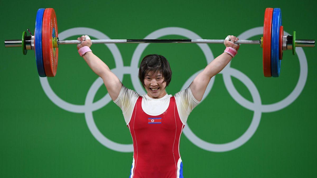 Rim Jong Sim holte für Nordkorea die erste Goldmedaille