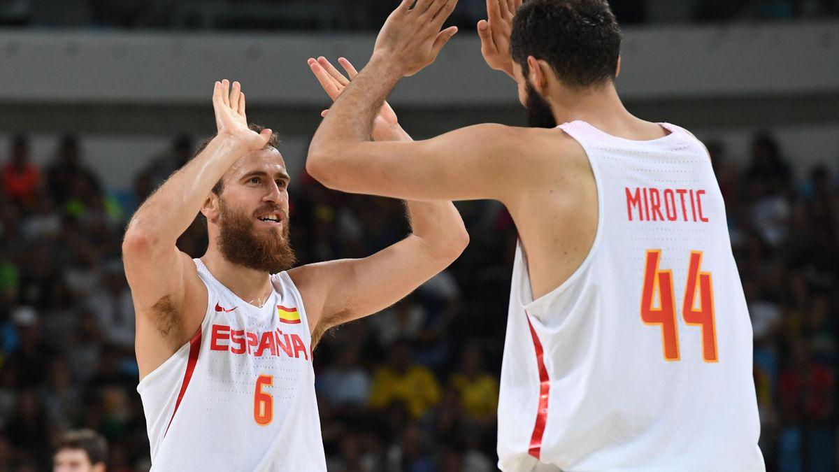 Die spanischen Basketballer spielen in Rio um Gold