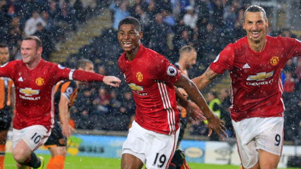 "Man Utd - Mourinho : ""Rashford est différent de Zlatan et Rooney"""