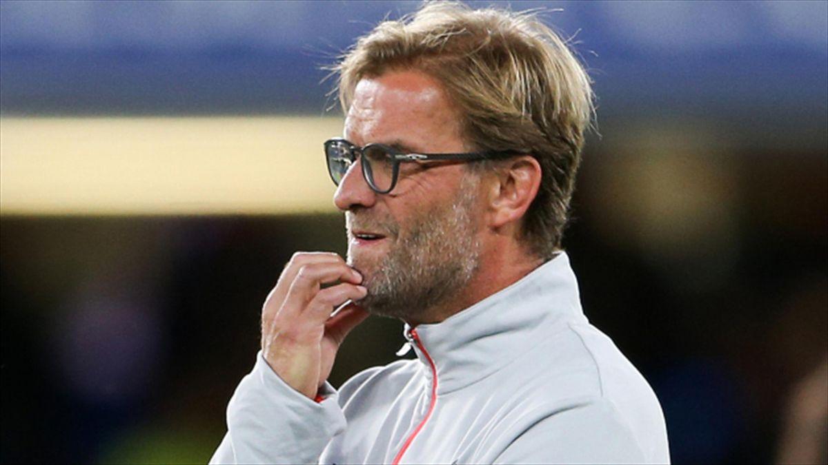 Jurgen Klopp - thinking about Liverpool's new target?