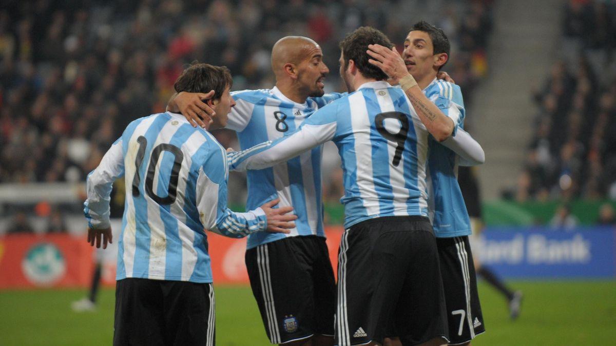 Selección argentina, Verón-Messi