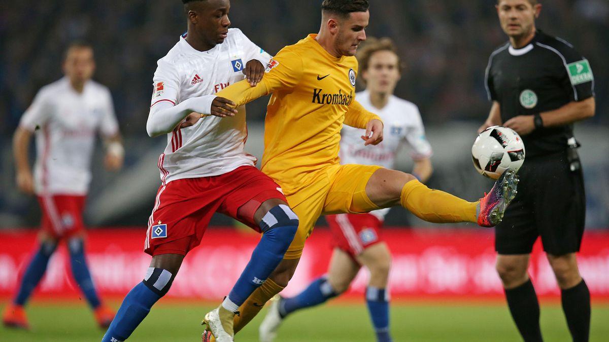 0:3 - Eintracht Frankfurt lässt dem HSV keine Chance