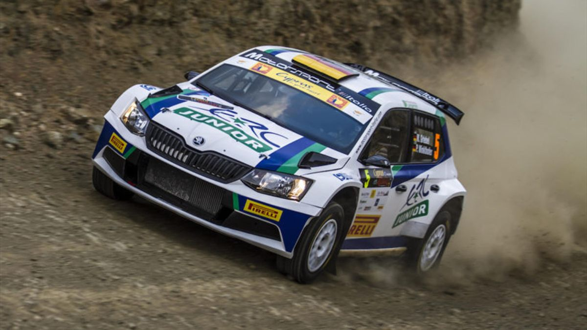 GRIEBEL Marijan SKODA FABIA R5 ambiance portrait during the 2016 European Rally Championship ERC Cyprus Rally,  from october  7 to 9  at Nicosie, Cyprus - Photo Thomas Fenêtre / DPPI
