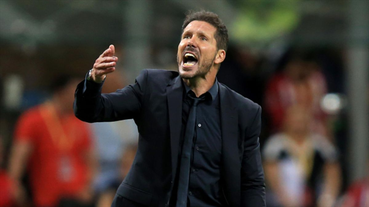 Diego Simeone's Atletico Madrid have won all four of their Champions League group games so far