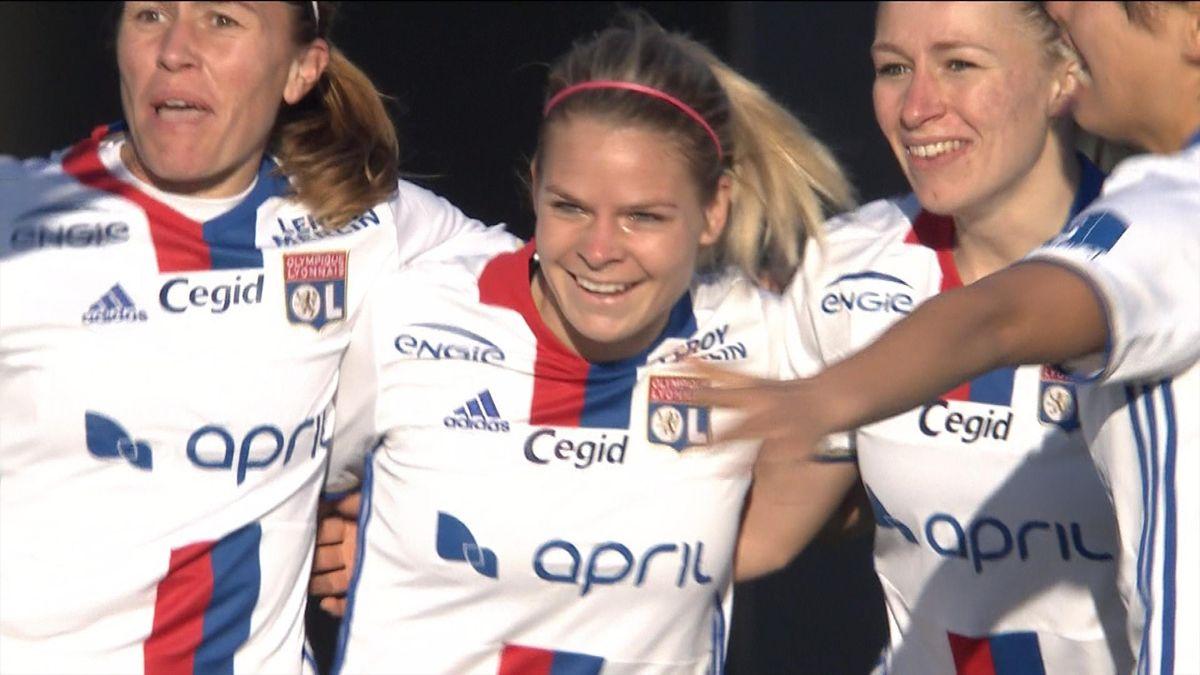 Résumé D1 Féminine Lyon - Montpellier