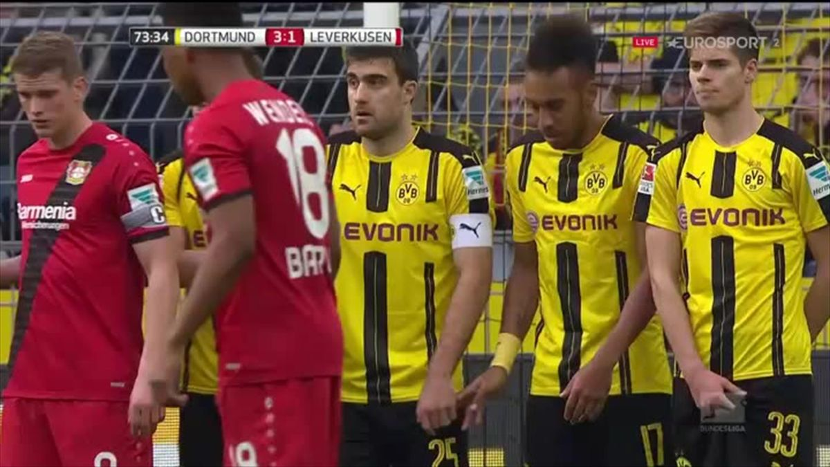 Bundesliga Borussia Dortmund - Bayer Leverkusen Mål