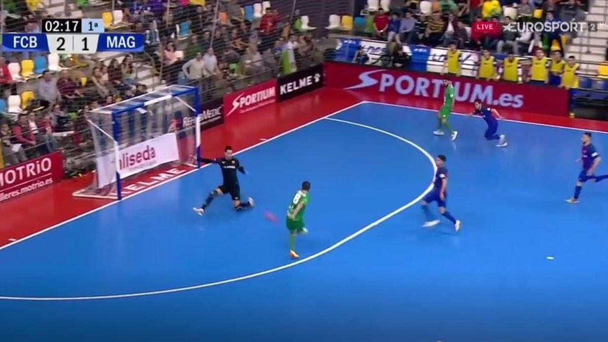 Jugadón con caño incluido y paradón en la Copa de España