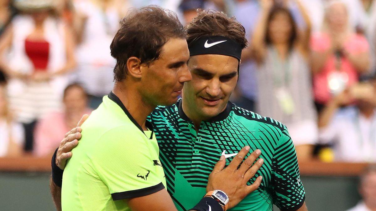 Rafael Nadal, Roger Federer - Indian Wells 2017
