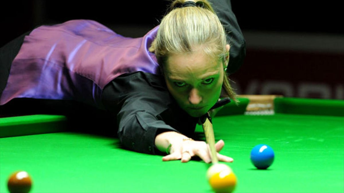 Reanne Evans' hopes of winning a place at this year's World Championship are over