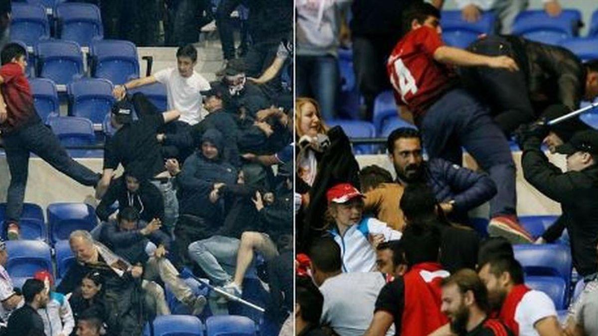 Ausschreitungen vor Europa-League-Duell zwischen Lyon und Besiktas