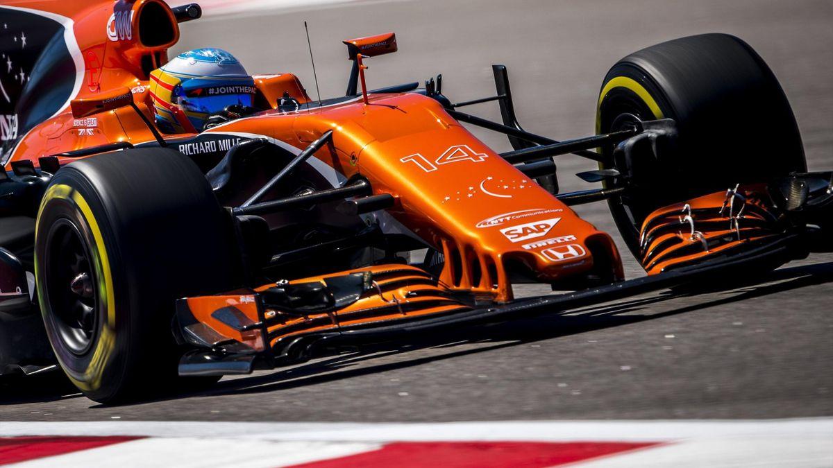 Fernando Alonso en los entrenamientos de Socchi