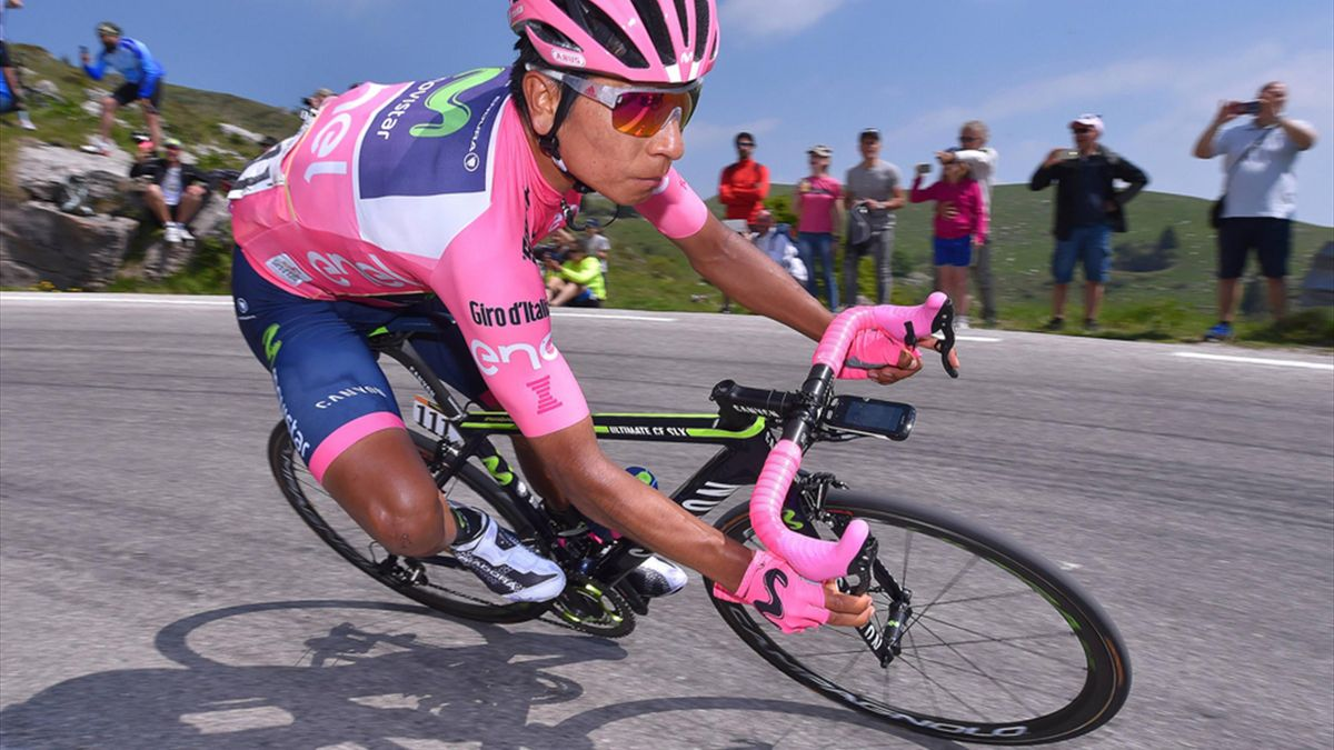Nairo Quintana geht als Führender in die Schlussetappe