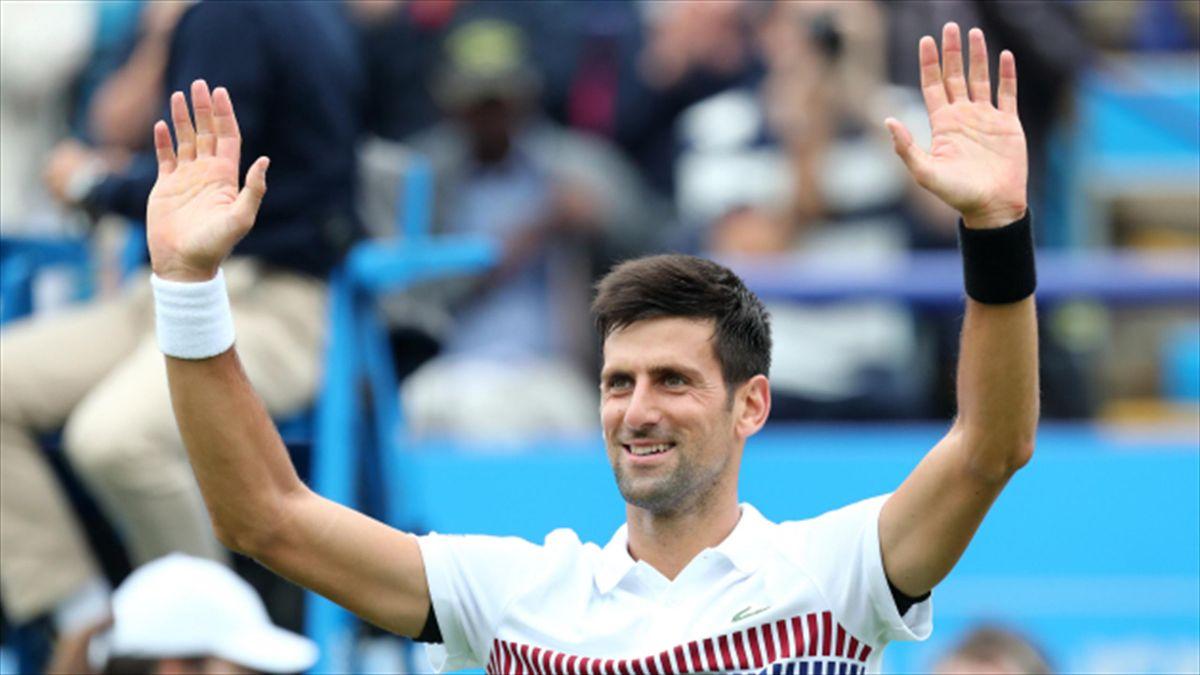 "Novak Djokovic feels ""liberated"" ahead of Wimbledon"