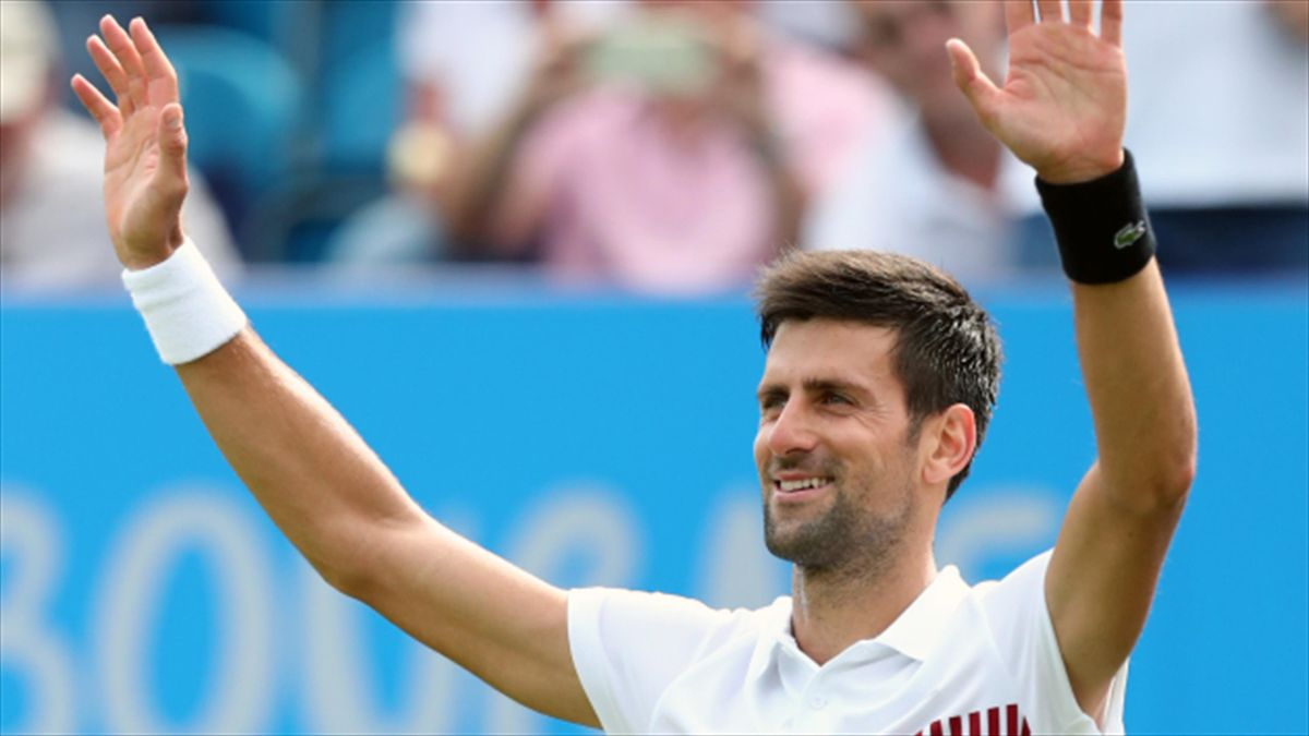 Novak Djokovic has reached the final on his first appearance at the Aegon International in Eastbourne