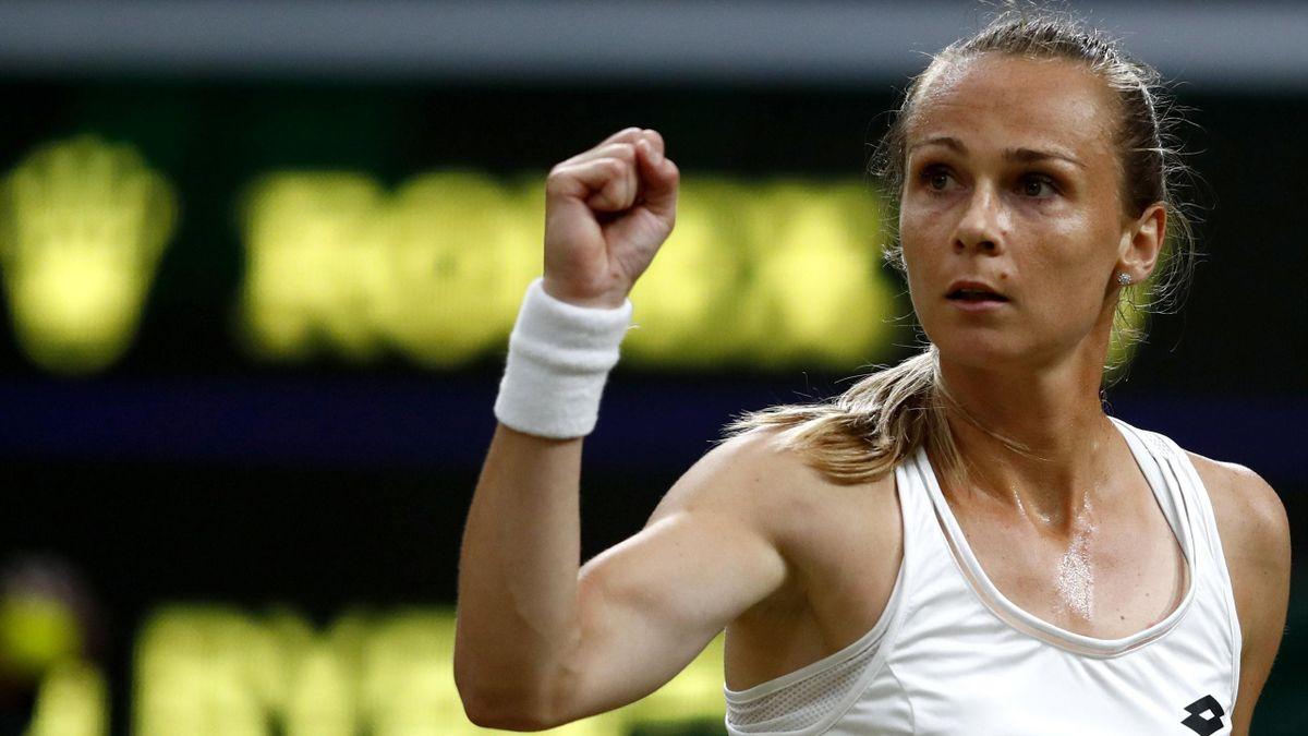 La tenista eslovaca Magdalena Rybarikova