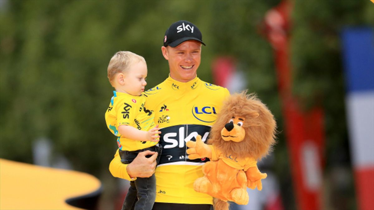 Chris Froome is now a four-time Tour de France winner