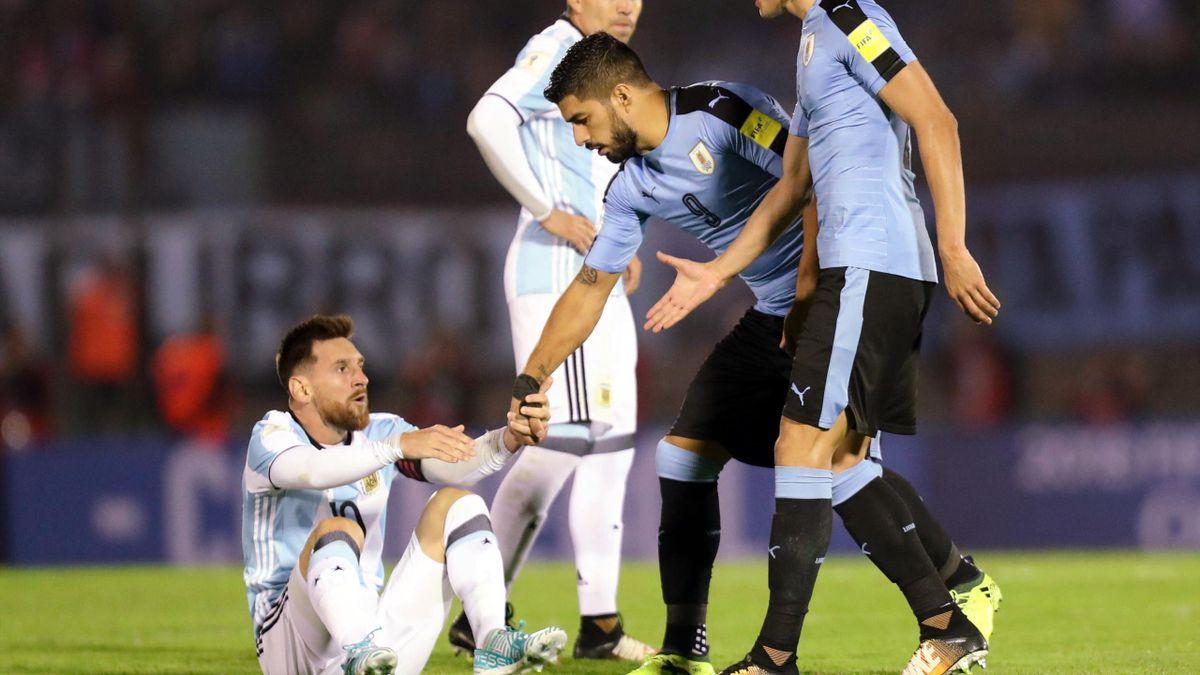 Messi y Luis Suarez