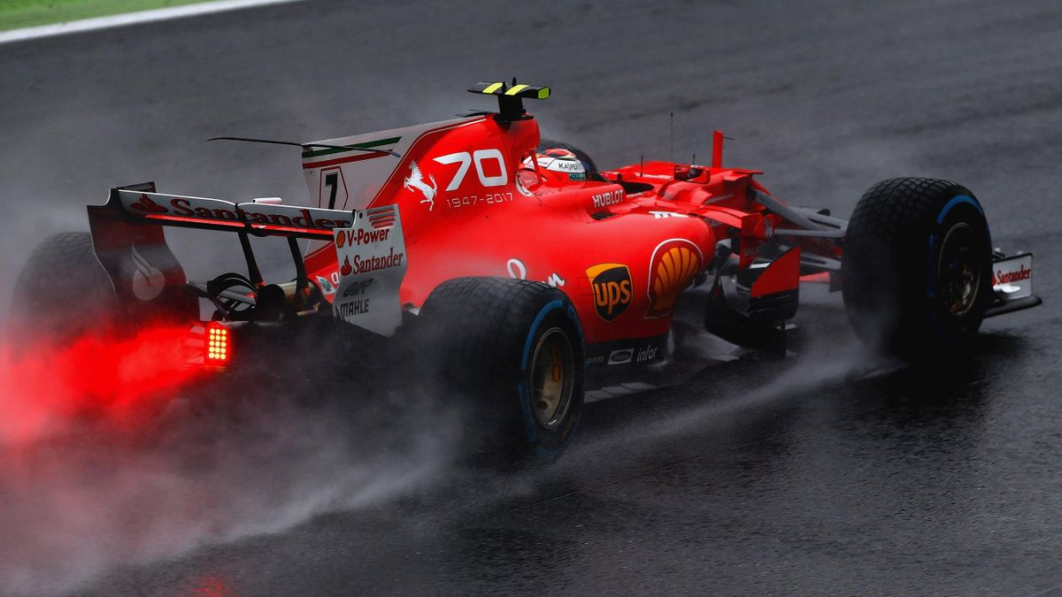 Kimi Räikkönen (Ferrari) - Grand Prix of Italy 2017