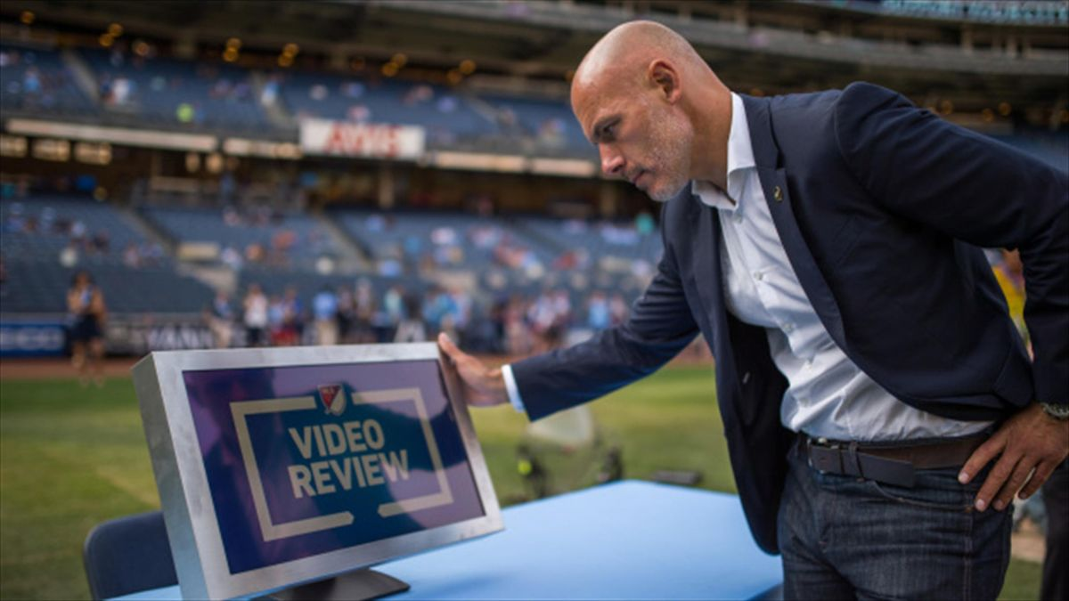Howard Webb is overseeing video review's introduction in MLS