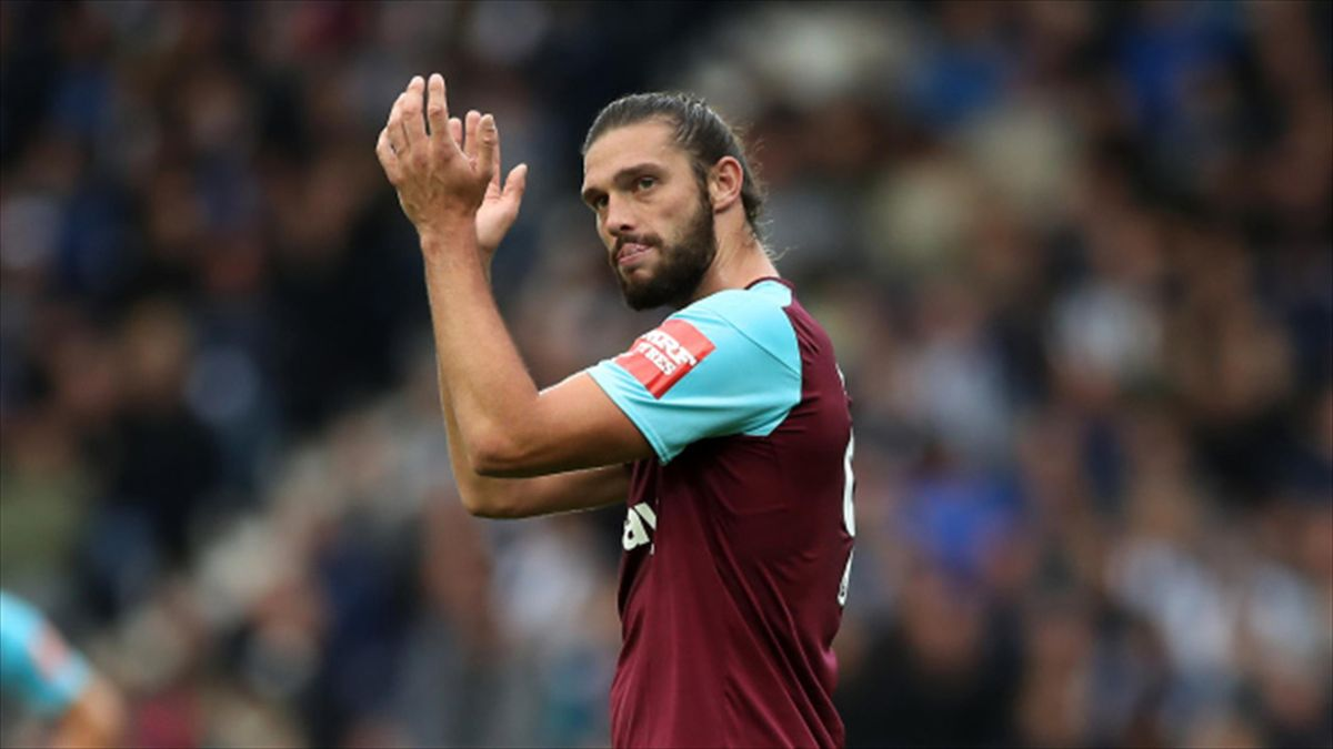 Andy Carroll has started the last two West Ham games after recovering from injury