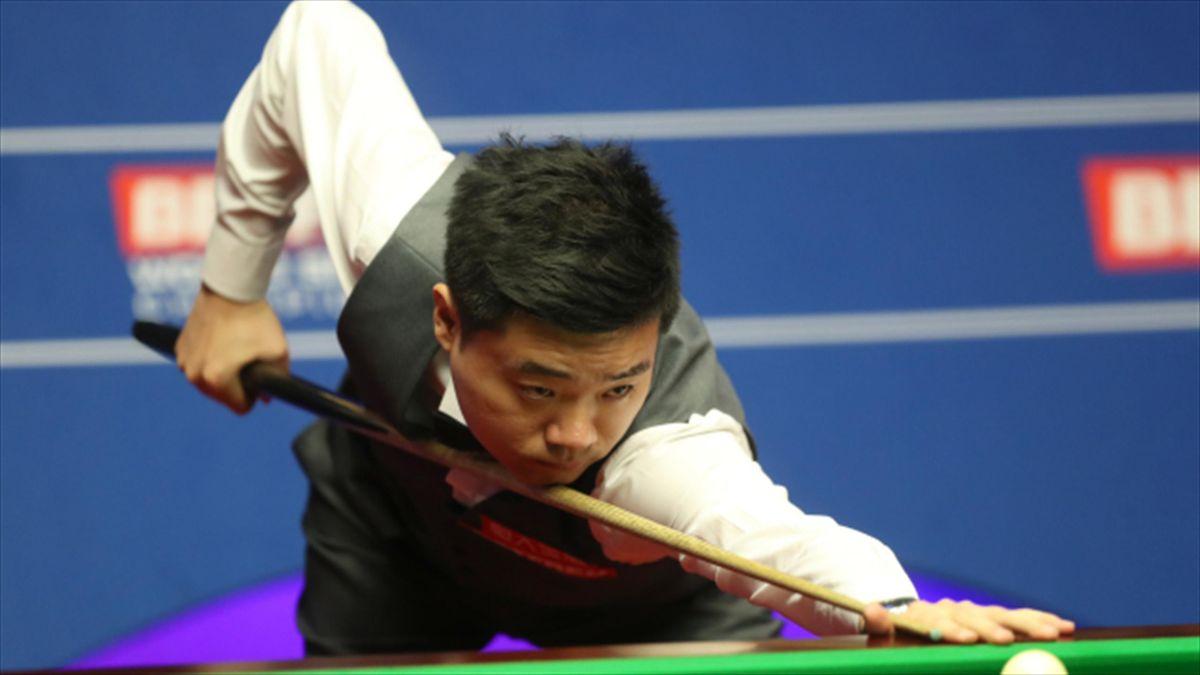 Ding Junhui, pictured, beat Kyren Wilson 10-3 in the final in Yushan