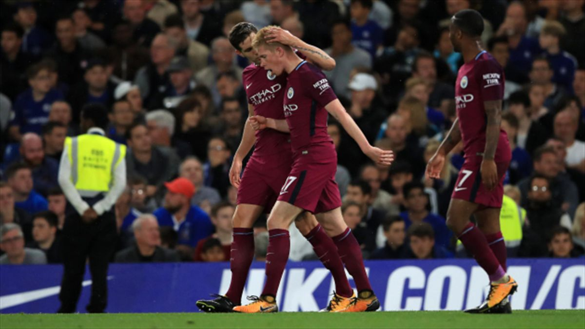 Kevin De Bruyne earns the praise of Manchester City boss ...