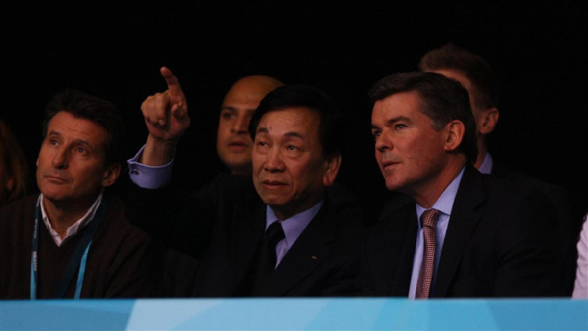AIBA  president Wu Ching-ku (pictured pointing) has been suspended by AIBA's disciplinary commission