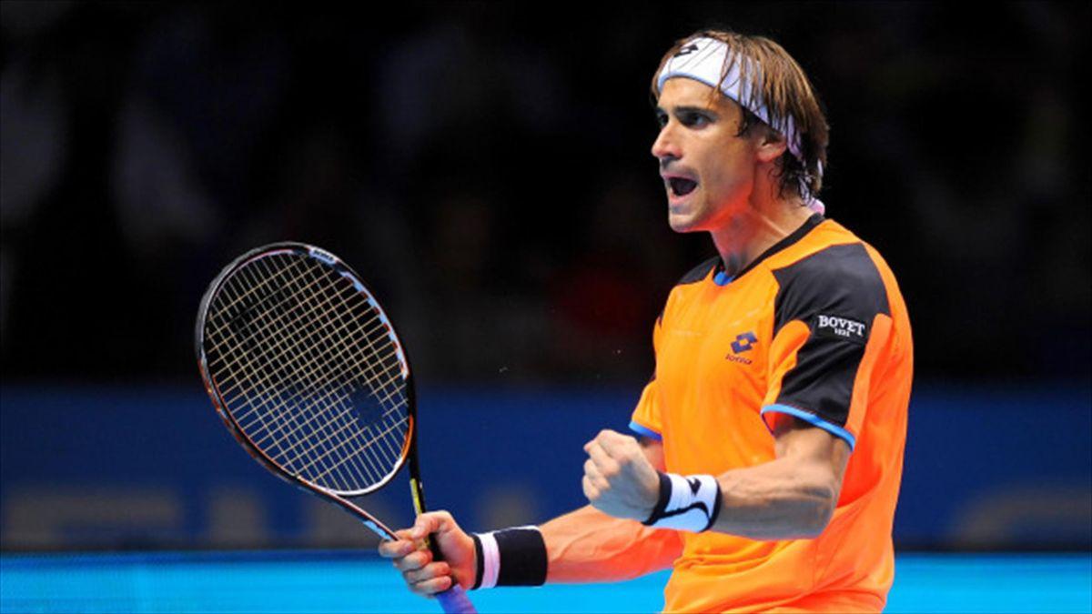 David Ferrer made it through to the second round in Belgium