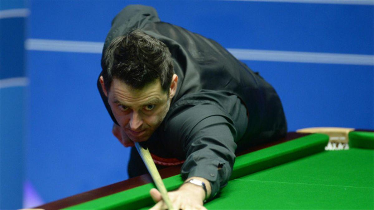 Ronnie O'Sullivan won in Shanghai