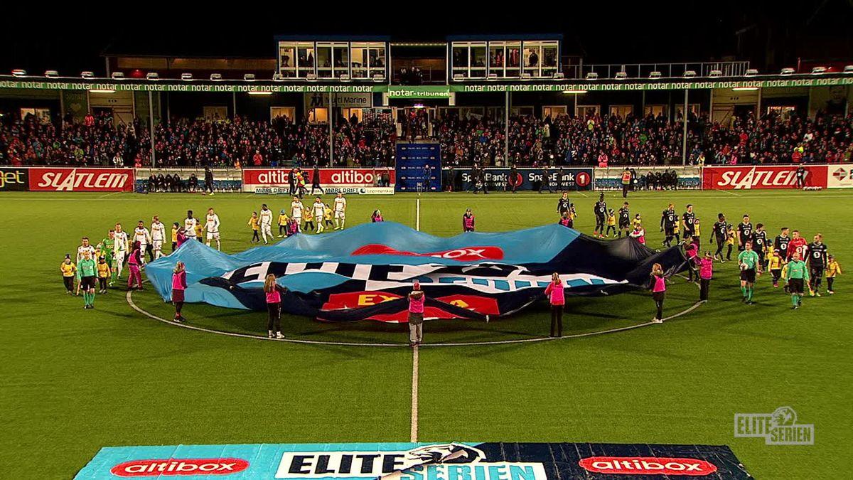 Eliteserien 2017, round 29, Kristiansund - Sandefjord Fotball