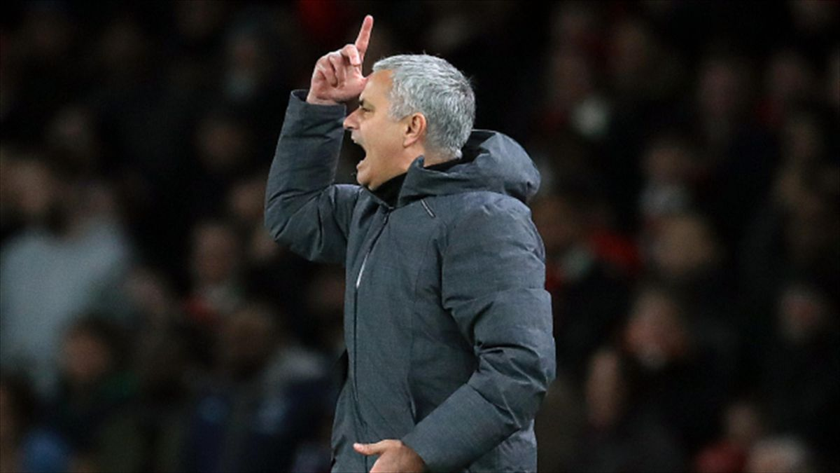 No action is being taken against Manchester United, whose manager Jose Mourinho is pictured, or Manchester City
