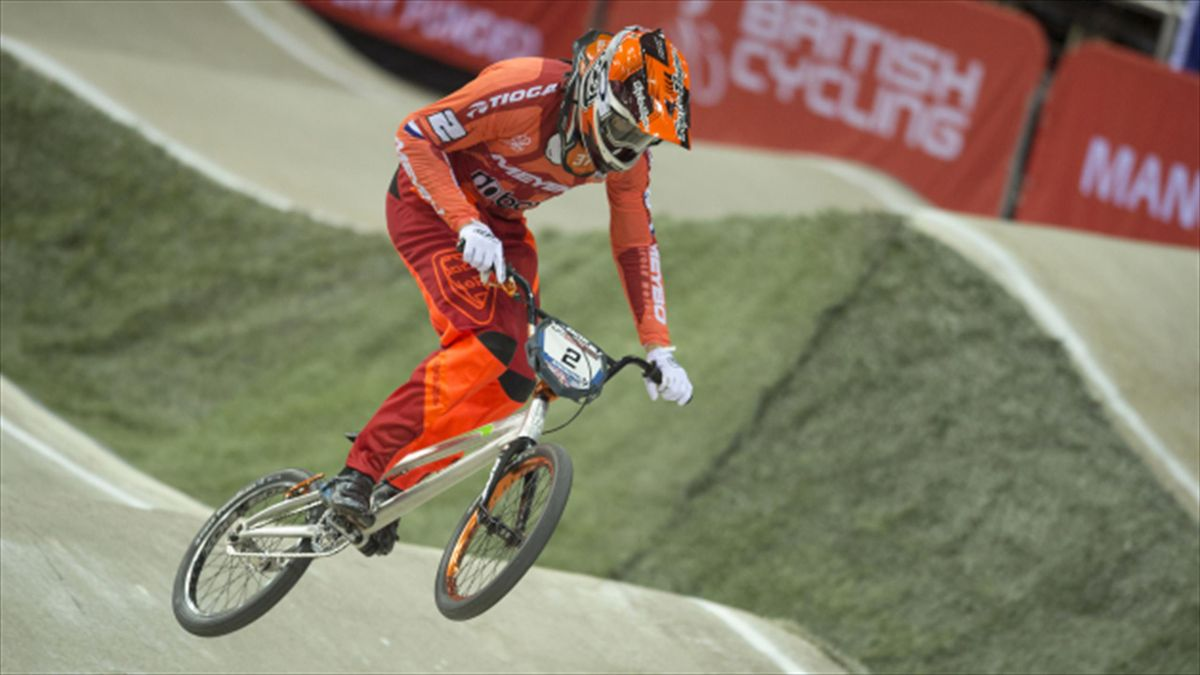 Dutch BMX rider Jelle van Gorkom suffered serious injuries in a crash during training