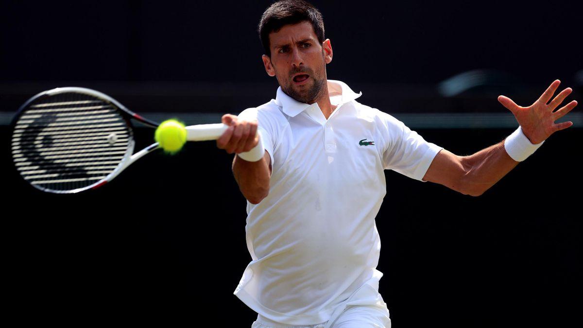 Novak Djokovic handled the heat better in his victory over Gael Monfils (Adam Davy/PA)