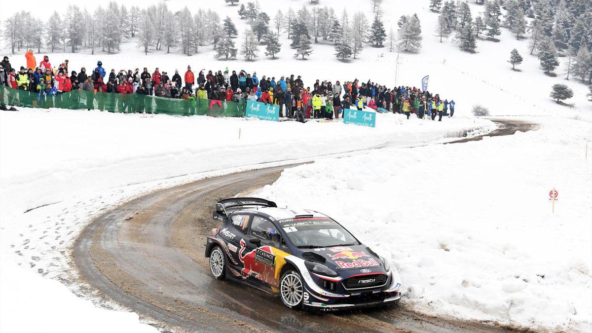 Gesamtsieger der Rallye Monte Carlo: Sebastien Ogier