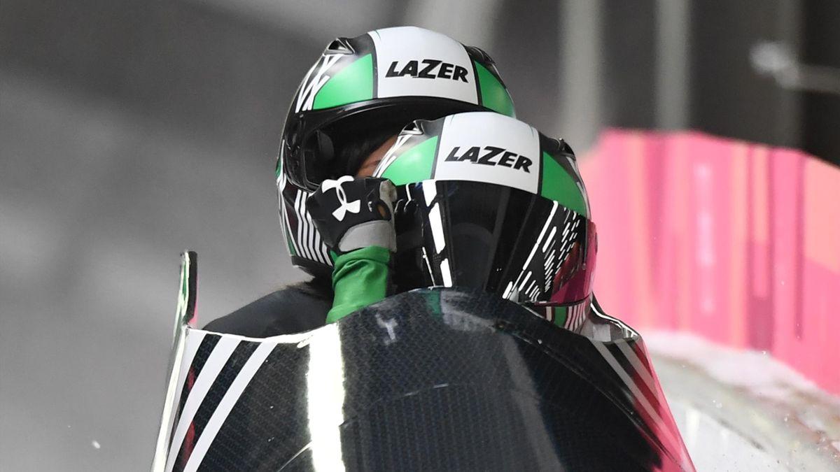 Nigeria participa en bobsleigh femenino