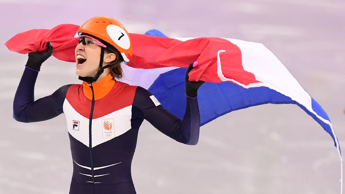 Suzanne Schulting hat Gold über die 1000 m gewonnen