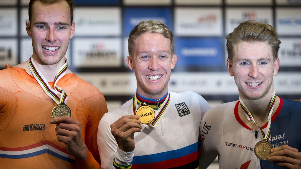 Mark Stewart claimed bronze (Peter Dejong/AP)