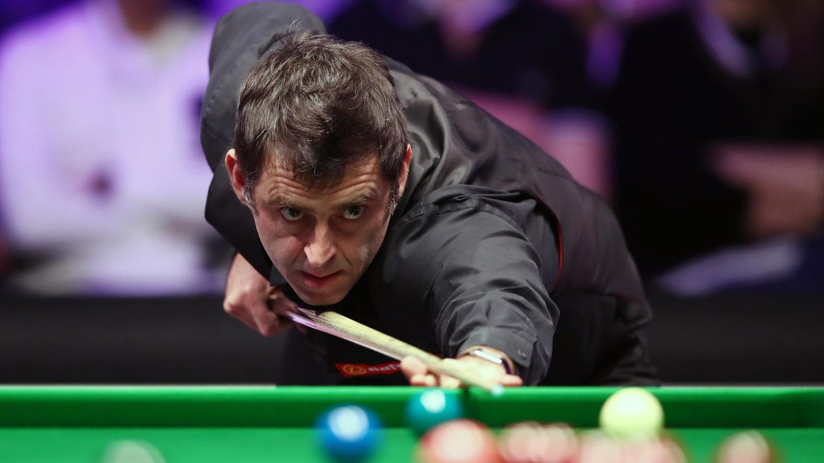 Ronnie O'Sullivan (pictured) will face either Shaun Murphy or Mark Williams in Sunday's final (John Walton/PA)