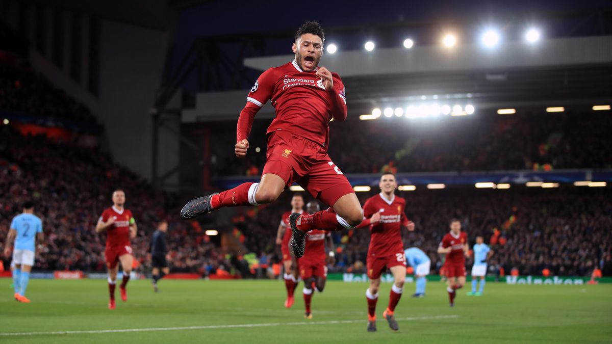 Liverpool's Alex Oxlade-Chamberlain has taken Jurgen Klopp's advice on board (Peter Byre/PA).